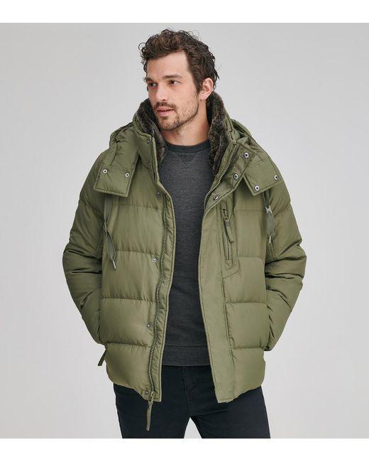 Andrew Marc - Gray Baltic Matte Down Coat for Men - Lyst