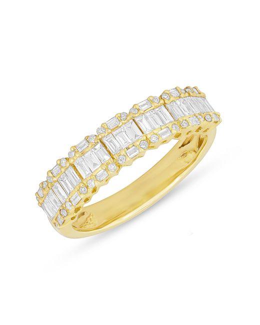 Anne Sisteron | Metallic 14kt Yellow Gold Baguette Diamond Ysabel Ring | Lyst