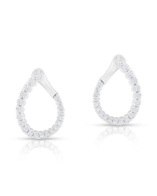 Anne Sisteron - Multicolor 14kt White Gold Diamond Merida Earrings - Lyst