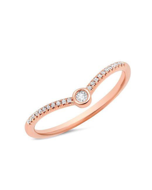 Anne Sisteron Multicolor 14kt Rose Gold Diamond Vera Ring