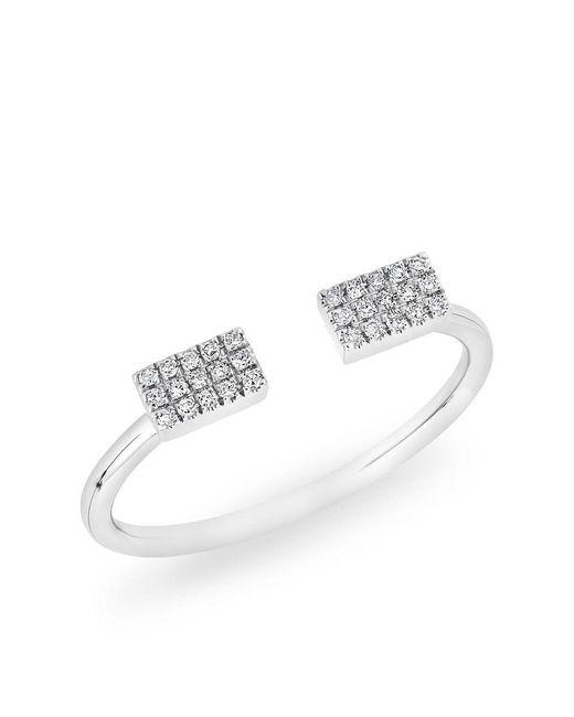 Anne Sisteron - Multicolor 14kt White Gold Diamond Valentine Heart Ring - Lyst