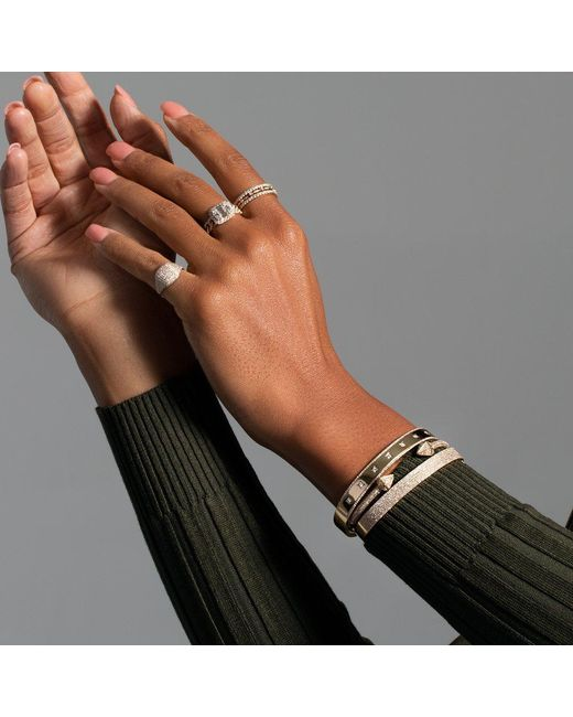 Anne Sisteron Metallic 14kt Rose Gold Diamond Olympia Cuff