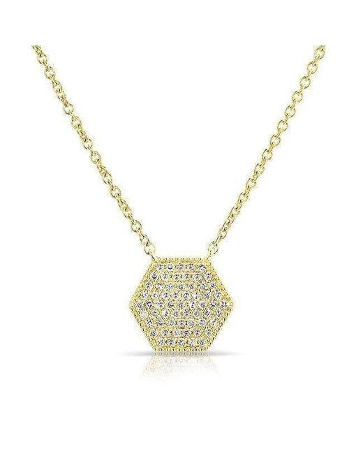 Anne Sisteron - Metallic 14kt Yellow Gold Diamond Honey Necklace - Lyst