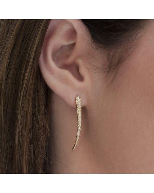 Anne Sisteron Multicolor 14kt Yellow Gold Diamond Talon Earrings