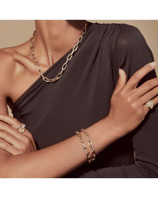 Anne Sisteron Metallic 14kt Yellow Gold Chain Link Luxe Lillian Bracelet