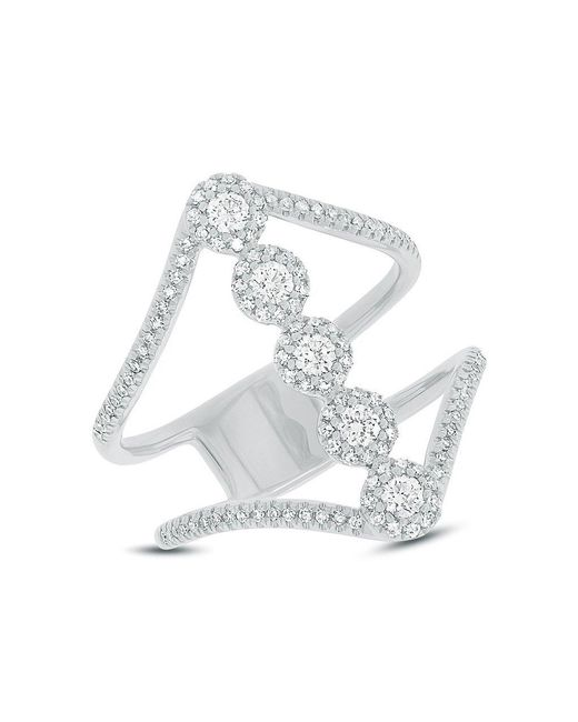 Anne Sisteron - Multicolor 14kt White Gold Diamond Catherine Ring - Lyst