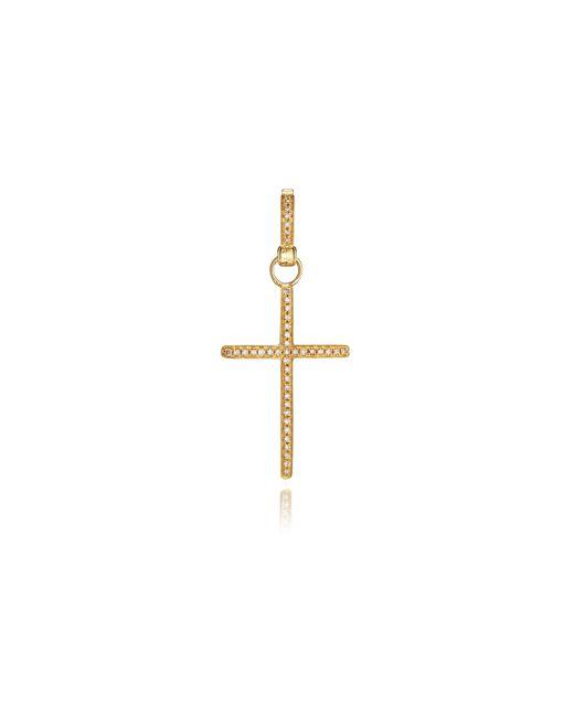 Annoushka | Metallic Eclipse Brown Diamond Cross Pendant | Lyst