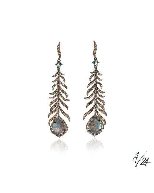 Annoushka | Metallic Mythology Tsar Feather Earrings | Lyst