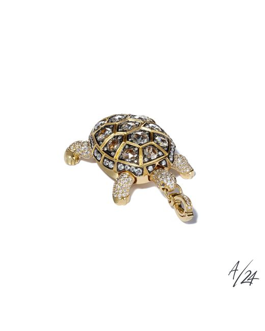 Annoushka | Metallic Mythology Turtle Locket Pendant | Lyst