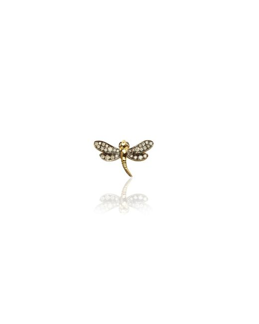 Annoushka | Metallic Love Diamonds Dragonfly Right Earring | Lyst
