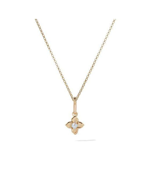 Annoushka Metallic Tokens 14ct Gold Pearl Necklace