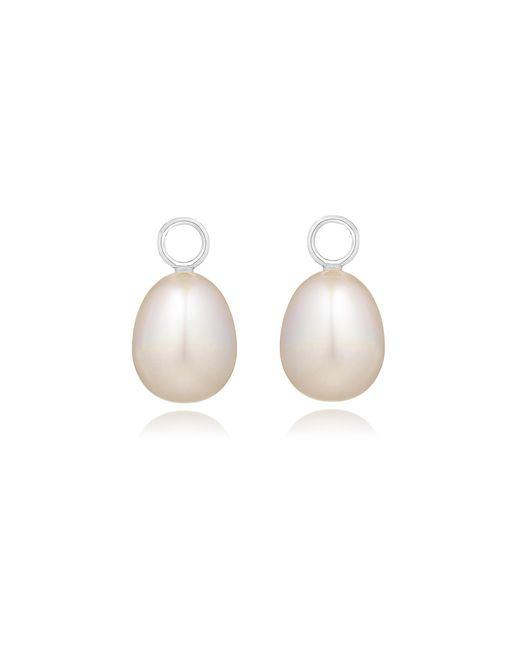 Annoushka - White Classic Baroque Pearl Earring Drops - Lyst