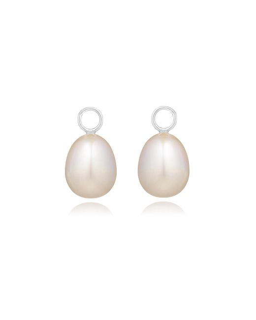 Annoushka | White Classic Baroque Pearl Earring Drops | Lyst