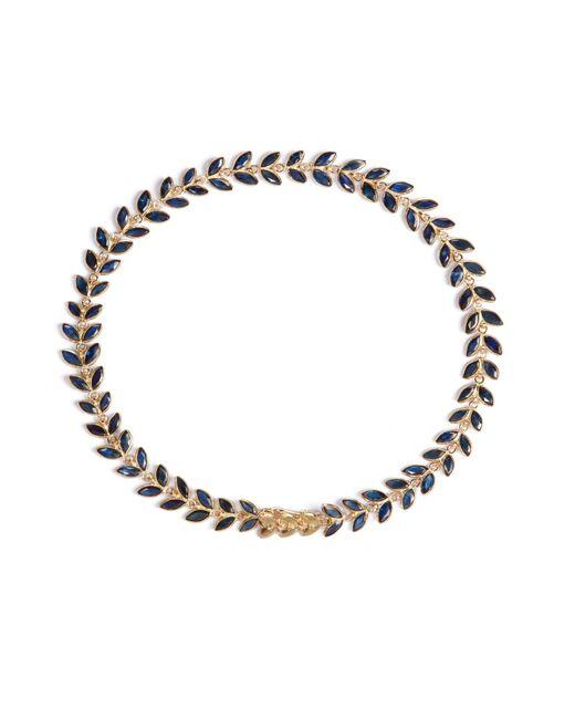Annoushka - Metallic Sapphire Vine Bracelet - Lyst