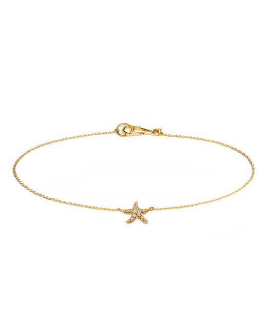 Annoushka - Metallic Love Diamonds Starfish Bracelet - Lyst