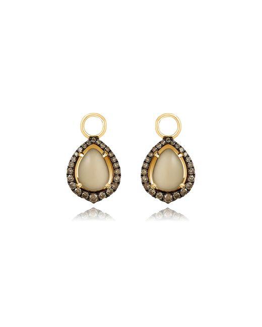 Annoushka - Metallic Olive Quartz Earring Drops - Lyst
