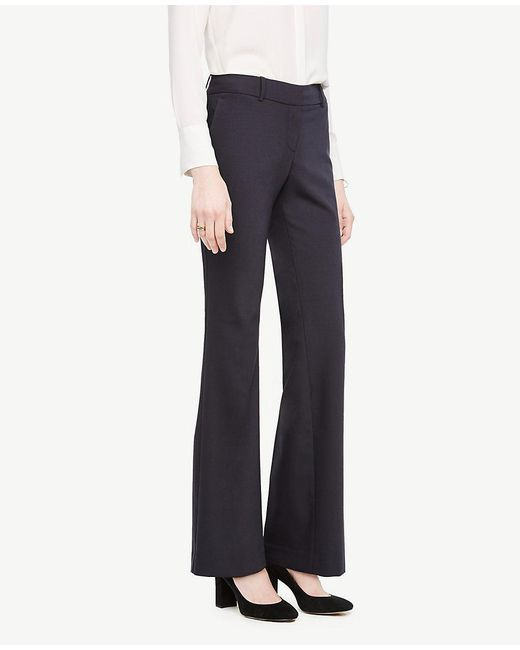 Ann Taylor | Blue The Trouser In Tropical Wool - Kate Fit | Lyst