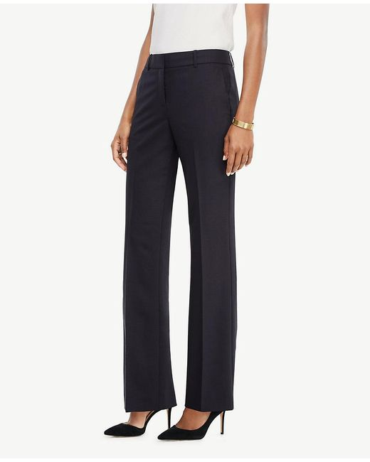 Ann Taylor | Blue The Trouser In Tropical Wool - Ann Fit | Lyst