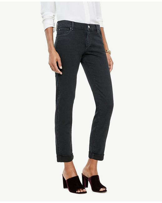 Ann Taylor - Blue Girlfriend Jeans - Lyst