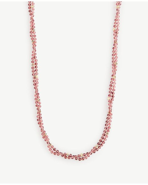 Ann Taylor | Multicolor Beaded Layering Necklace | Lyst