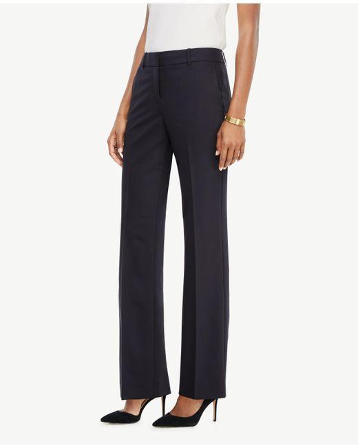 Ann Taylor | Blue The Trouser In Tropical Wool - Ann Fit | Lyst