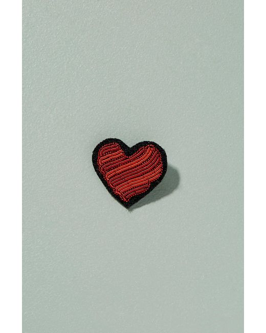 Macon & Lesquoy | Red Heart Pin Badge | Lyst