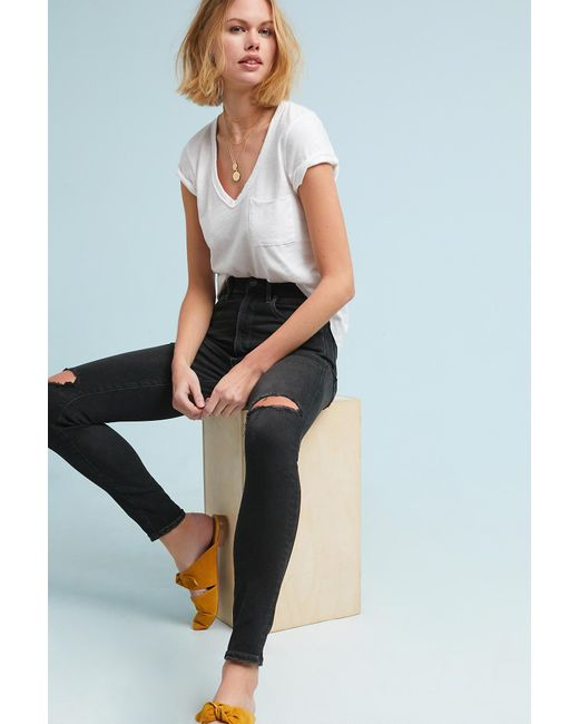 Citizens of Humanity - Black Chrissy Ultra High-rise Sculpt Skinny Jeans - Lyst
