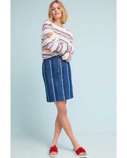 Maeve - Blue Hill Pencil Skirt - Lyst