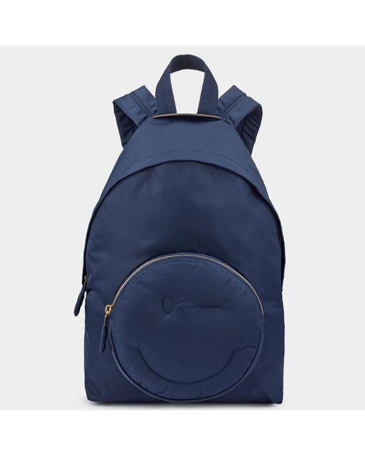 Anya Hindmarch - Blue Chubby Wink Backpack - Lyst