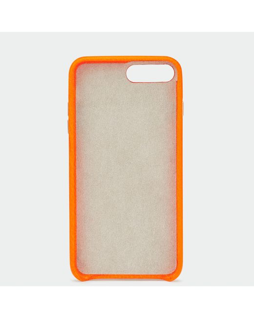 neon orange iphone 8 plus case
