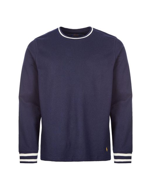 Ralph Lauren Blue Sleep T-shirt for men