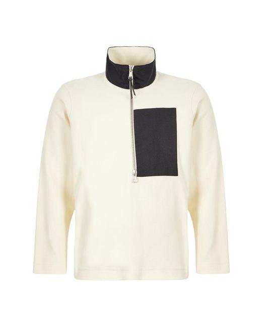 Albam Natural Sports Zip Fleece for men