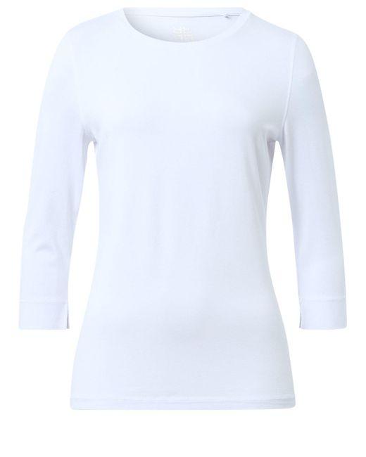 Riani White Shirt mit Dreiviertelarm