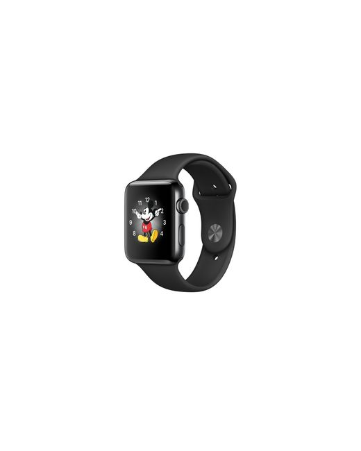 Apple | Watch Series 2, 42mm Space Black Stainless Steel Case With Black Sport Band for Men | Lyst
