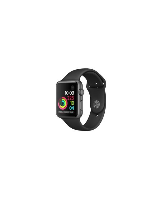 Apple | Watch Series 1, 38mm Space Gray Aluminum Case With Black Sport Band for Men | Lyst