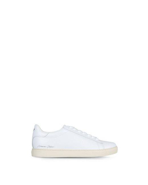 Armani Jeans | White Shoe | Lyst