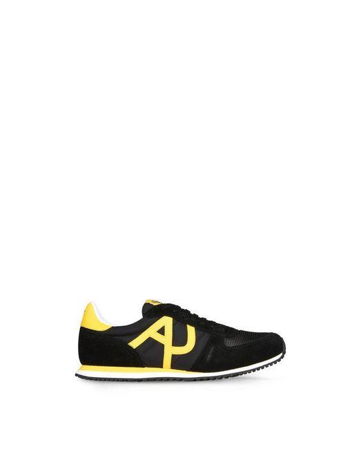 Armani Jeans | Black Shoe for Men | Lyst