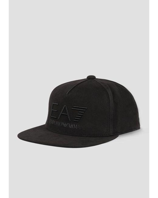 16964dc114c Emporio Armani - Black Cap for Men - Lyst ...