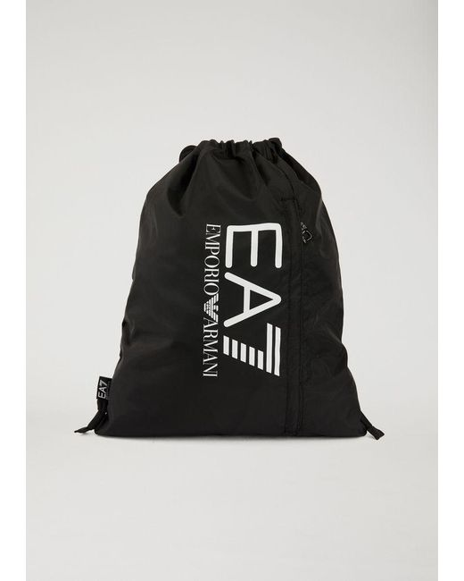 EA7 - Black Gym Bag for Men - Lyst ... a4e78ae267220
