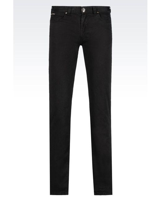 Armani | Black Classic Pant for Men | Lyst