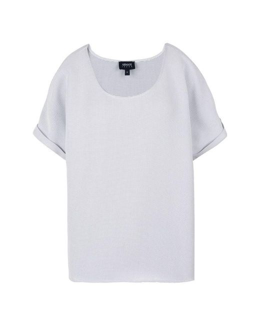 Armani Jeans | White Blouse | Lyst