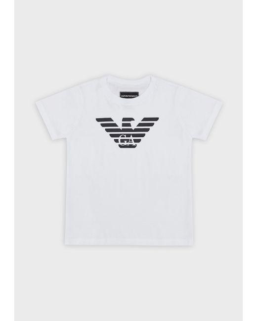 Emporio Armani White T-shirts for men