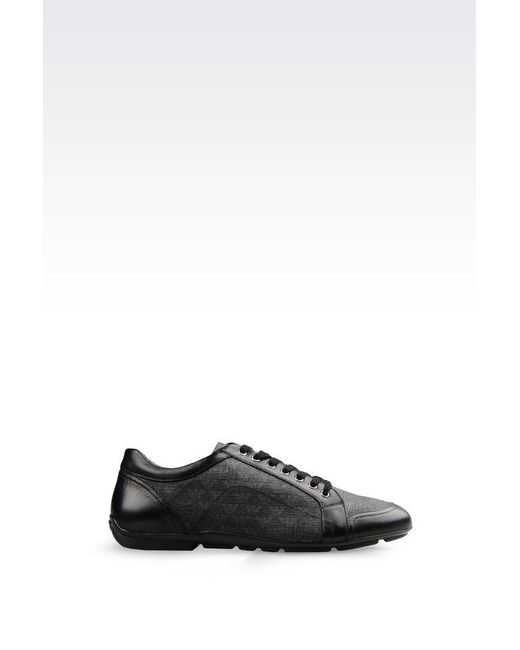 Emporio Armani | Gray Sneakers for Men | Lyst