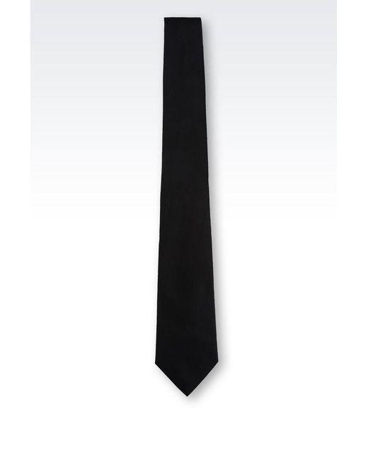 Armani | Black Tie for Men | Lyst