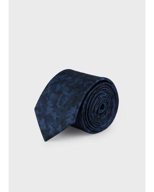 Cravatta di Emporio Armani in Blue da Uomo