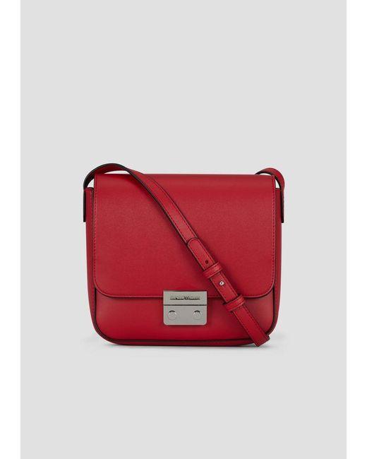 Emporio Armani - Red Crossbody Bag - Lyst ... abb89a1e807be