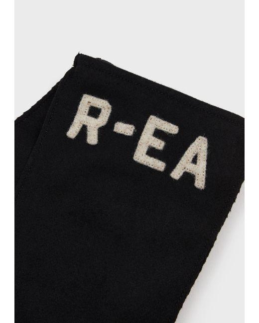 Emporio Armani Black Gloves for men