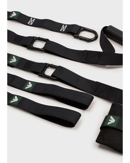 Emporio Armani Synthetic Sports Accessories in Black - Lyst