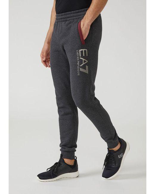 Emporio Armani - Gray Sweatpants for Men - Lyst
