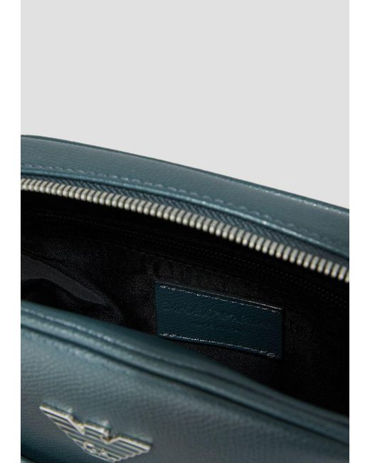 ... Emporio Armani - Green Crossbody Bag for Men - Lyst ... a7e66b1b0a9a8
